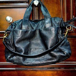Linea Pelle NY leather satchel